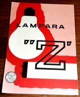 Antigua Publicidad - Lampara Z - Extraído De Revista - 19x13cm - Publicidad