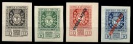 España. ** 727/28 Y 729/30. Expo Filatélica. Terrestre Y Aérea. Lujo. Cat. 870 €. - 1931-Hoy: 2ª República - ... Juan Carlos I
