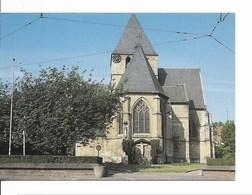 Drogenbos (1620) : Vue Arrière  De L'Eglise Saint Nicolas / Sint-Niklaaskerk (14ème Siècle).. CPSM. - Drogenbos