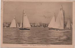 Régates Devant L'Hôtel Majestic / CANNES/Caron / Boulogne Sur Mer /1932      MAR58 - Voiliers