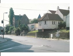 Drogenbos (1620) : Le Presbytère (19ème), Au Croisement De La Grand'Route Et De La Rue De L'Eglise. CPSM. - Drogenbos