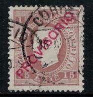 Portugal // 1892-1893 //  15r Brun Oblitéré - 1892-1898 : D.Carlos I