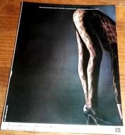 Antigua Publicidad - BI, Beine Von Bi - Moda - Extraído De Revista 1984  - 30x22,5cm - Publicidad