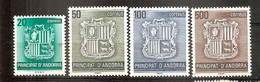Andorra Española - Edifil 209-12 - Yvert 194-97 (MNH/**) - Andorra Española