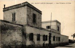CPA Fortier 131, Saint Louis- Les Prisons Civiles, SENEGAL (762841) - Senegal