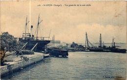 CPA Fortier 108, Saint Louis- Vue Générale De La Cale Séche, SENEGAL (762891) - Senegal