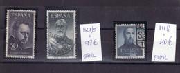 E S P A Ñ A -    SERIE Y SELLOS SUELTO MATASELLADO - 1931-Hoy: 2ª República - ... Juan Carlos I