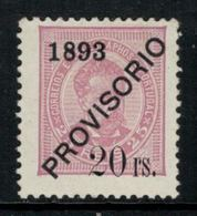 Portugal // 1893 //  20r S. 25r  Lilas-rose Timbre Neuf* Avec Charnière - Unused Stamps