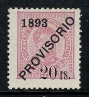 Portugal // 1893 //  20r S. 25r  Lilas-rose Timbre Neuf* Avec Charnière - 1892-1898 : D.Carlos I
