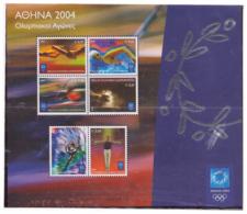 Grèce 2004 - Jeux Olympiques - MNH ** - Michel Nr. Bloc 29 (gre544) - Greece