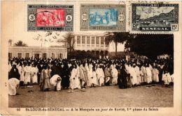 CPA Fortier 16, Saint Louis- A La Moquée Un Jour De Korité, SENEGAL (762988) - Senegal