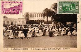 CPA Fortier 17, Saint Louis- A La Moquée Un Jour De Korité, SENEGAL (762991) - Senegal