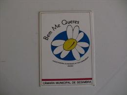 Câmara Municipal De Sesimbra Portugal Portuguese Pocket Calendar 1996 - Calendars