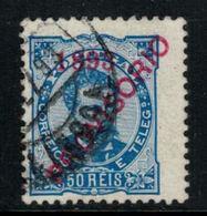 Portugal // 1893 //  50r Bleu Oblitéré - 1892-1898 : D.Carlos I