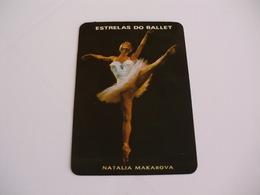 Ballet Stars Natalia Makarova Portugal Portuguese Pocket Calendar 1986 - Klein Formaat: 1981-90