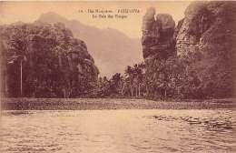 ILES MARQUISES  FATU HIVA LA BAIE DES  VIERGES - French Polynesia