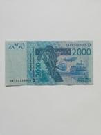 MALI 2000 FRANCS - Mali