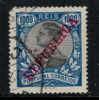 Portugal // 1895-1905 //  Emmanuel II 1000r Bleu Et Noir Oblitéré (voir état !) - 1892-1898 : D.Carlos I