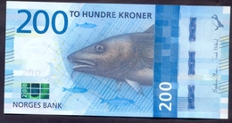 Norway 200 Kroner 2016 UNC Pic 55 - Norvège