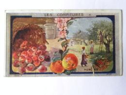 Chromo Au Planteur De Caïffa - Confiture De Pommes Carte N°35 - Confiserie & Biscuits