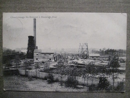 Cpa Hautrage-état (Saint-Ghislain) - Charbonnage Du Hainaut - Edit. Thiry Frères, Dour - 1908 - Saint-Ghislain