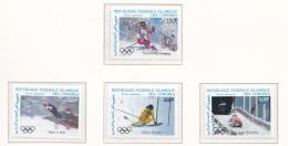 Comoros 1988 Calgary Olympic Games - 4 Stamps MNH/**   (H44) - Winter 1988: Calgary