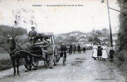 88 - VOSGES - DARNEY - Vue Générale Prise De La Gare - 1910 - Très Bon état - Darney