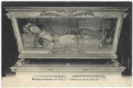 28 - Montigny Le Gannelon - Chasse De Sainte Félicité - Au Dos Une Prière De La Neuvaine - Montigny-le-Gannelon