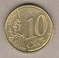 2007 Slovenia 10c Circolata (fronte E Retro) - Slovenia