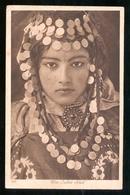 DONNE IN COSTUME DEL  MAGHREB - NORDAFRICA - INIZI 900 -  UNA OULED NAIL ( DONNA DI TRIBU ALGERINA) - Costumi