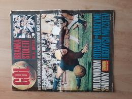 GOL, CZECH REPUBLIC FOOTBALL MAGAZINE 1967? - Books