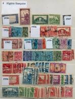 COLONIAS FRANCESAS , LOTE DE SELLOS , ARGELIA , ALEMANIA - OCUPACIONES ZONA FRANCESA - France (former Colonies & Protectorates)