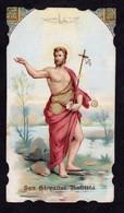Santino: S. GIOVANNI BATTISTA - E - PR  - Mm. 67 X 118 - Religión & Esoterismo
