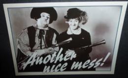 Carte Postale - Laurel Et Hardy (cinéma - Film) Another Nice Mess ! - Publicité