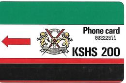 CARTE-MAGNETIQUE-KENYA-200--TBE - Télécartes