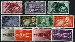 Río Muni. Catálogo Edifil  Nº 18/28. Año 1961 - Riu Muni