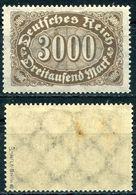 D. Reich Michel-Nr. 254a Ungebraucht - Geprüft - Deutschland