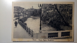 Treviso - Riviera Regina Margherita - Animata - Viaggiata 1942, Storia Postale Effigie 30c + Aerei/per La Vittoria - Treviso