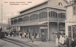 CPA Afrique Occidentale - SENEGAL - RUFISQUE - La Gare - Senegal
