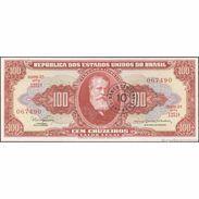 TWN - BRAZIL 185b - 10/100 Centavos/Cruzeiros 1967 Serie 1251ᴬ - Signatures: Nogueria & De Bulhões UNC - Brasile
