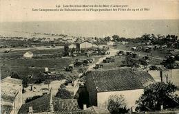 Les Saintes Maries De La Mer * Les Campements De Bohémiens Et La Plage Pendant Les Fêtes Du 24 Et 25 Mai * Gitans - Saintes Maries De La Mer