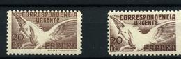 3796. España  Nº 832 Y 861. Pegaso . Año 1937-1938 - 1931-50 Nuevos & Fijasellos