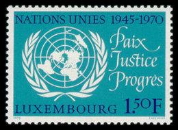 Luxembourg, Luxemburg, 1970, United Nations 25th Anniversary, MNH, Michel 813 - Non Classificati