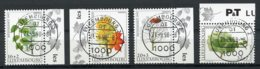 Luxembourg, Luxemburg, 1997, Welfare, Trees, Nature, Cancelled, Michel 1431-1434 - Luxemburg