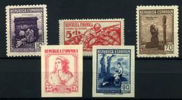 España  Nº NE 46/47,52,53/54s. Año 1939 - 1931-Heute: 2. Rep. - ... Juan Carlos I