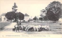 18 -  SAINTE SOLANGE ( Environs De BOURGES ) Le Tombeau De Sainte Solange ( Troupeau De Moutons ) CPA - Cher ( Berry ) - France