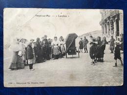 "Heist-sur-Mer/Heist/-orgue De Barbarie""caroline""sur La Digue-animée-1908(draaiorgel) - Heist"
