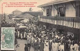 CPA Voyage Du Ministre Des Colonies à La Côte D'Afrique - RUFISQUE - Senegal
