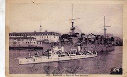 Lorient  -  Entrée Du Port De Guerre  -  CPA - Oorlog
