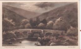FINGLE BRIDGE @ GORGE OF THE TEIGN. ANDREW BEER - England
